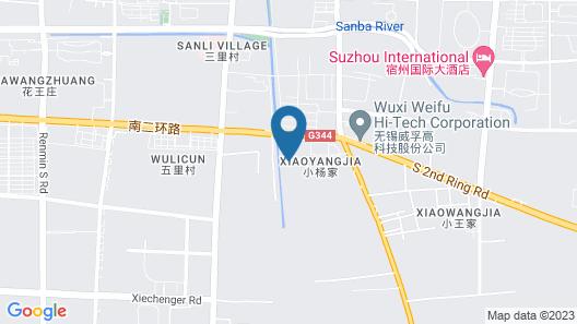 GreenTree Inn Suzhou Yongqiao District Railway Station Express Hotel Map