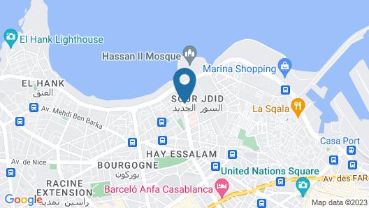 Melliber Appart Hotel Map