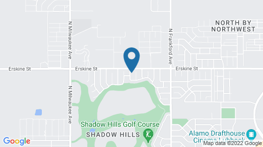 Homestead - in Shadow Hills Golf Course Division - 3 Br Home Map