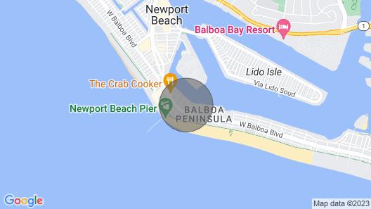 NEW! Casa de Balboa 219B Sunlit Beach Views Map
