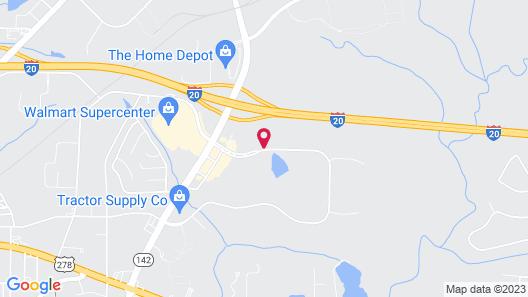 Hampton Inn Covington, GA Map
