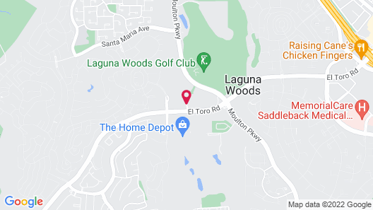 Ayres Hotel Laguna Woods Map