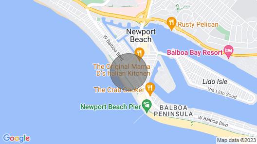 BEACH COTTAGE, SURF & SAND, BEST BEACH! Map