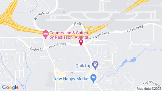 Days Inn by Wyndham College Park/Atlanta /Airport South Map