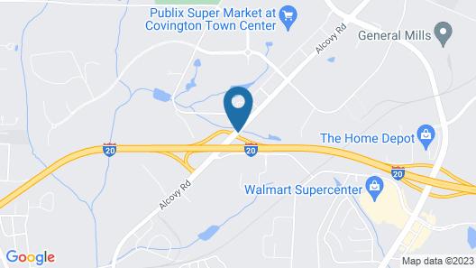 Super 8 by Wyndham Covington Map