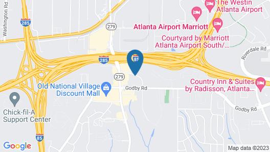 Red Roof Inn PLUS+ & Suites Atlanta Airport South Map