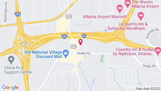 Travelodge by Wyndham College Park Map