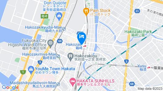 HARE to KE - Hostel Map