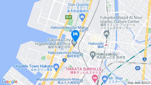 Fukuoka Recent Hotel Map