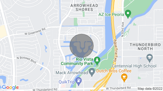 Lakefront Retreat and Oasis Map