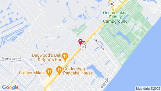 Grand Palms Resort Map