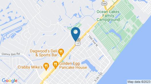 Plantation Resort of Myrtle Beach Map