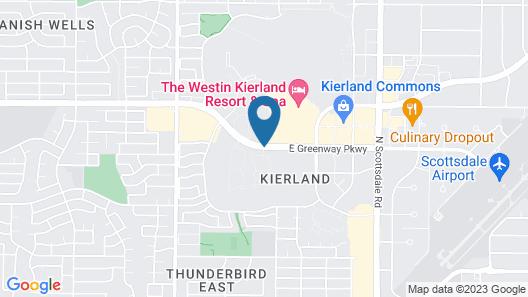 Sonoran Suites of Scottsdale Map