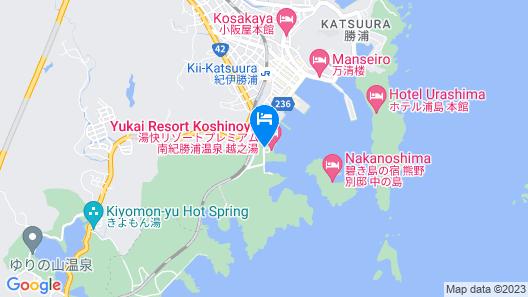 Yukai Resort Koshinoyu Map