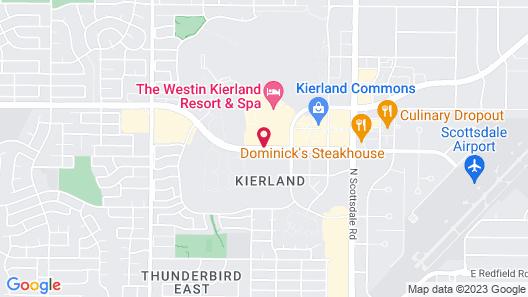 The Westin Kierland Resort and Spa Map