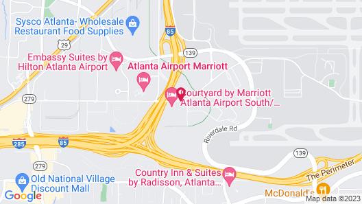 Fairfield Inn & Suites Atlanta Airport South/Sullivan Road Map