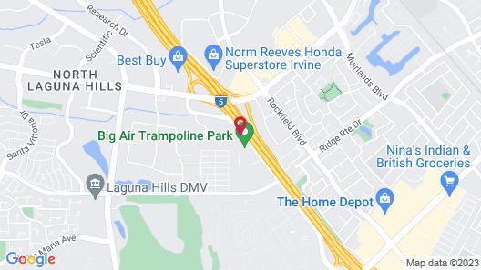 Sonesta Select Laguna Hills Map