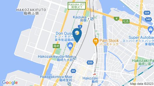Hotel Japanesque Fukuoka Map