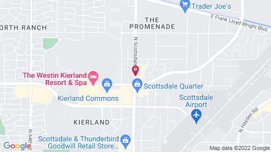 Extended Stay America - Phoenix - Scottsdale - North Map