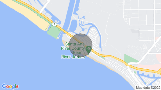 Rare single family home located just one house off the beach! Map