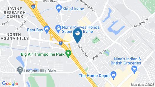 Hilton Garden Inn Irvine Spectrum Lake Forest Map