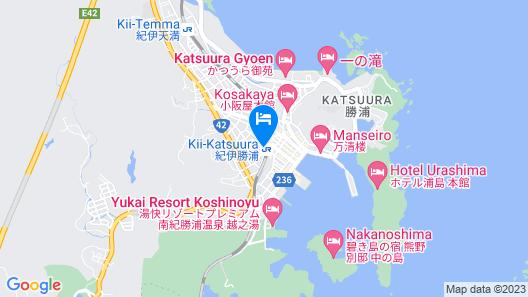 Minshuku Wakatake Map