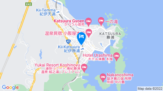 Hotel & Renta Car 660 Nachi-Katsuura Map