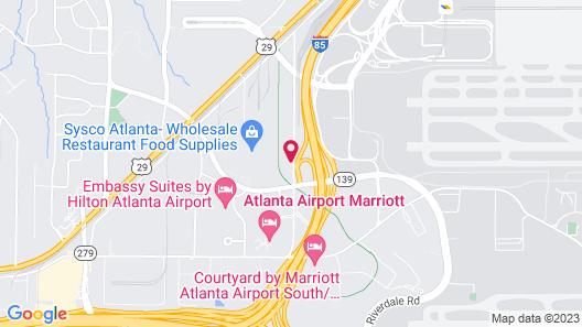 Holiday Inn Express Atlanta Airport - College Park, an IHG Hotel Map