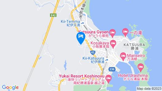 Hiizurukurenainoyado Katsuurakankohotel Map