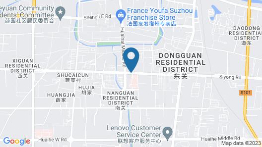Huaxia Hotel Map