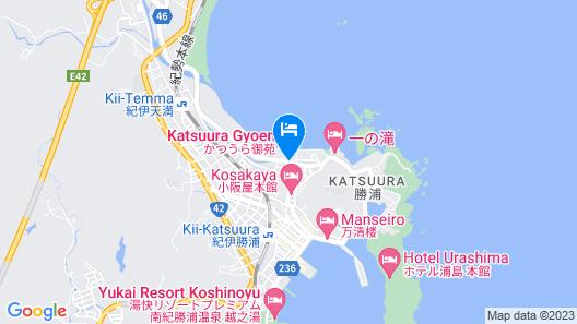 Katsuura Gyoen Map