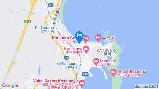 SUNRISE KATSUURA Map