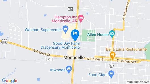 Days Inn by Wyndham Monticello Map