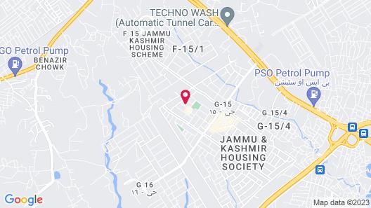 Rehaish innn Map