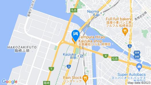Vessel Hotel Fukuoka Kaizuka Map
