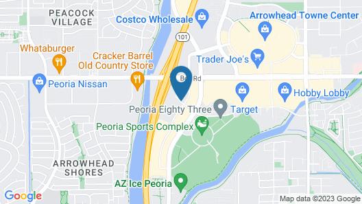 Hampton Inn Glendale-Peoria Map