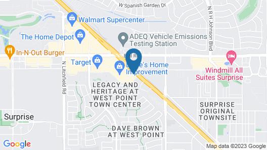 Best Western Plus Surprise-Phoenix NW Map
