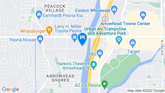 Holiday Inn Express Hotel & Suites PEORIA NORTH - GLENDALE Map