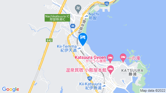 PAL'S INN KATSUURA Map