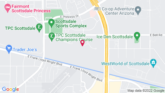 Scottsdale Marriott at McDowell Mountains Map