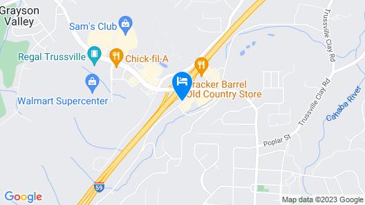 Holiday Inn Express & Suites Birmingham Trussville, an IHG Hotel Map