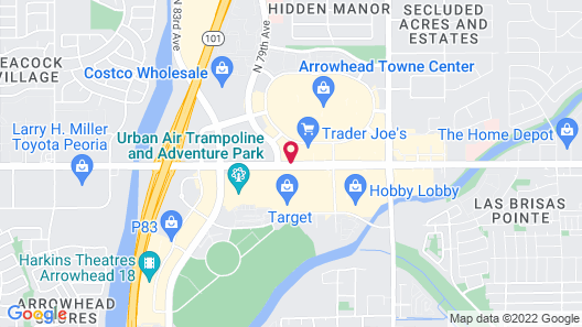 Springhill Suites By Marriott Phoenix Glendale Peoria Map