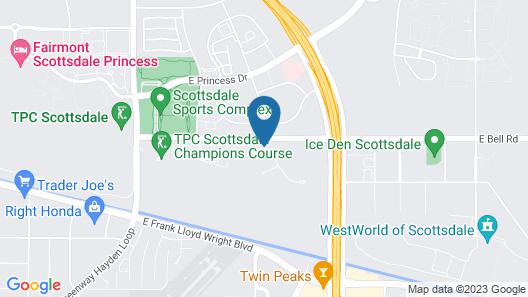 Scottsdale Links Resort by Diamond Resorts Map