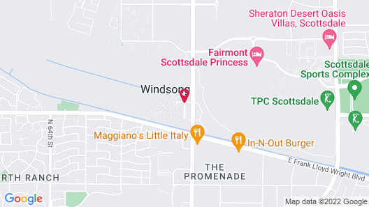 SpringHill Suites Scottsdale North Map