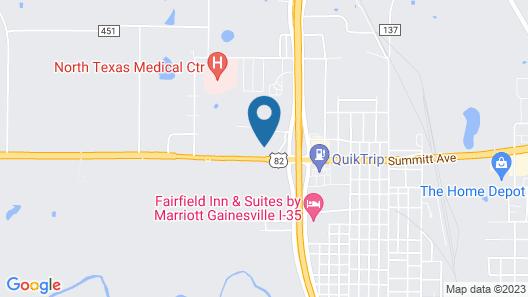 Days Inn by Wyndham Gainesville Map