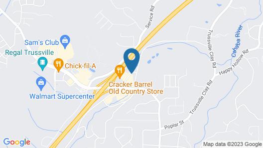Comfort Inn & Suites Trussville I-59 exit 141 Map