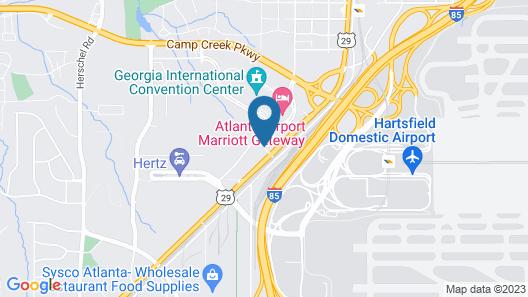 AC Hotel by Marriott Atlanta Airport Gateway Map