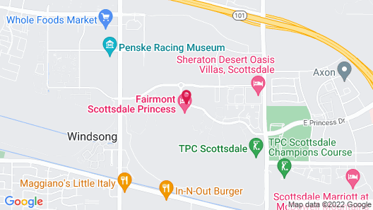 Fairmont Scottsdale Princess Map