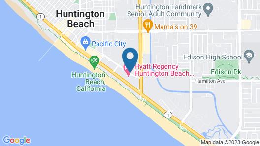 Hyatt Regency Huntington Beach Resort and Spa Map