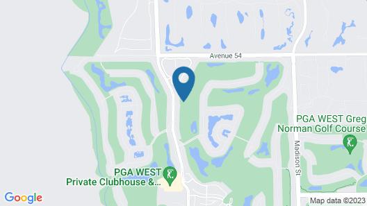 Pgawest La Quinta 3br/2ba W Comm Pool/ Jacuzzi 3 Bedroom Condo Map